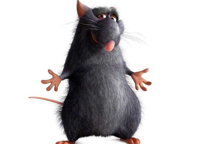 Крыса из мультика