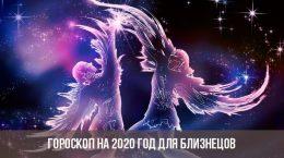 Гороскоп на 2020 год для Близнецов