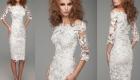Белое новогоднее платье 2020