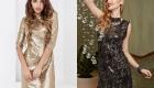 Эффектное платье в пайетках на Новый Год 2020