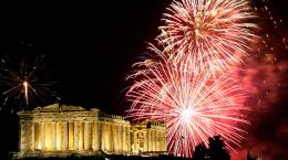 Новый 2020 год в Греции