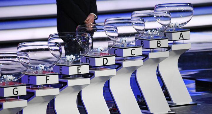 Жеребьевка Чемпионата Европы по футболу в 2020 году