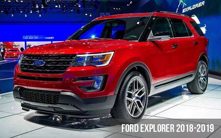 Ford Explorer модели 2018-2019 года