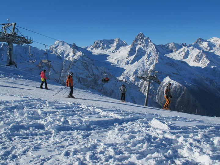 горнолыжный отдых в Адыгее