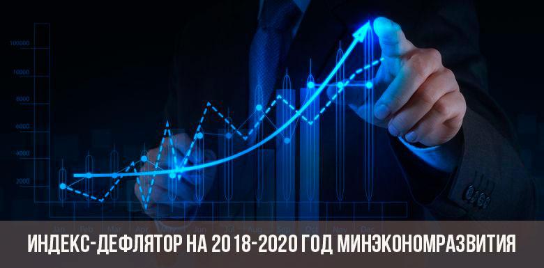 Дефляторы минэкономразвития до 2020 года рекомендации