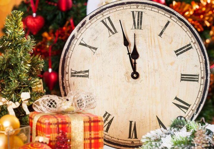 Несколько минут до Нового года