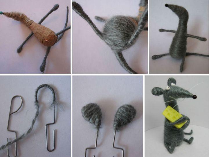Мастер-класс по изготовлению крысы своими руками