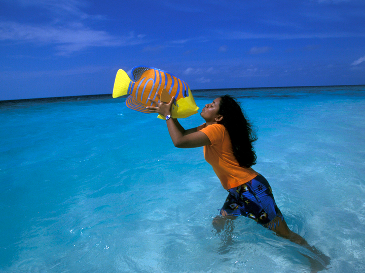 Мальдивы природа