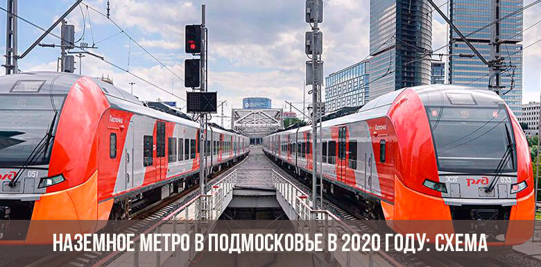 Наземное метро в Подмосковье в 2020 году