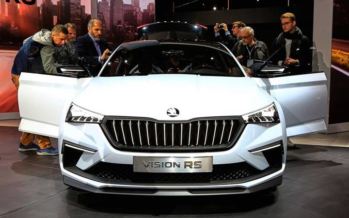 Экстерьер Skoda Vision RS 2019-2020