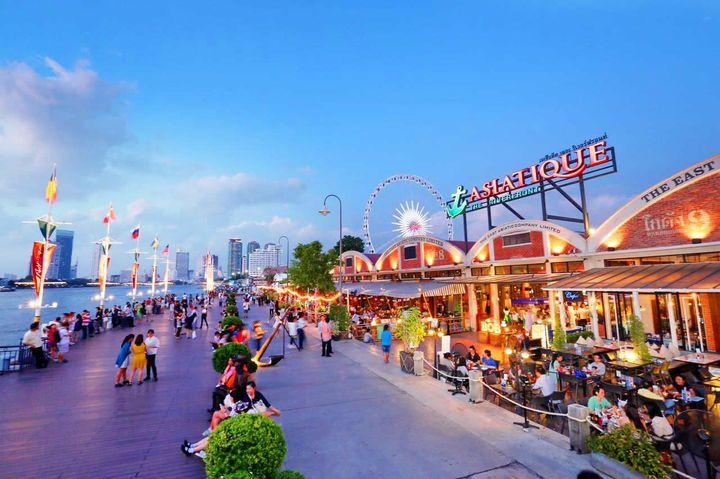 Набережная Азиатик Бангкок