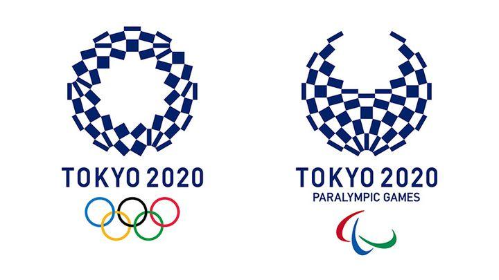 Эмблема Олимпиады в Токио в 2020 году
