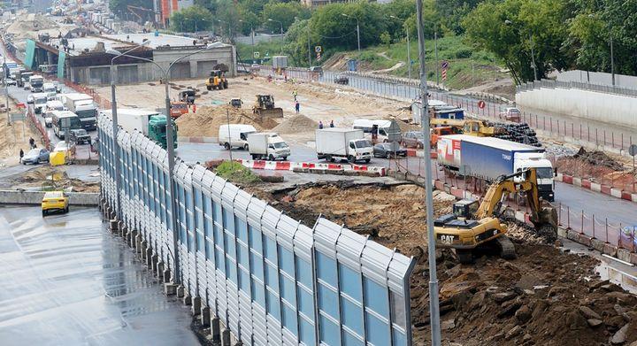 Работы на Горьковском шоссе