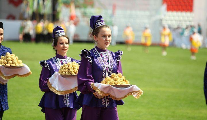 Праздник Сабантуй у татар