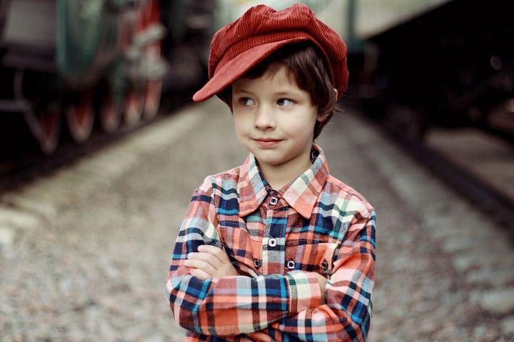 Мальчишка в кепке