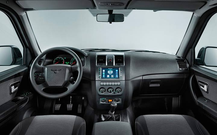 Интерьер УАЗ Патриот 2020