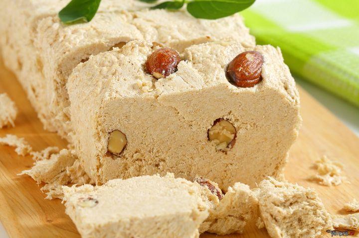 Халва с арахисом