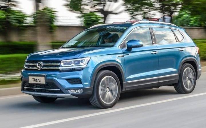 Новый внедорожник Volkswagen Tharu 2020