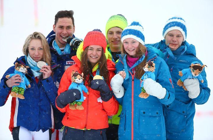 Участники юношеской спортивной олимпиады