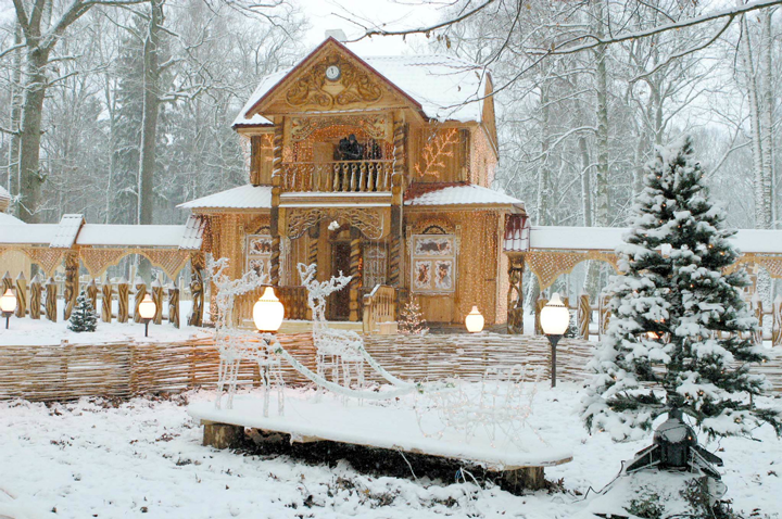 Резиденция Деда Мороза в Белоруссии
