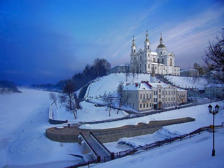 Витебск зимой