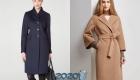 Модели классических пальто 2020 года