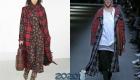 Модное клетчатое пальто 2019-2020