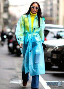 Стильное пальто-дождевик