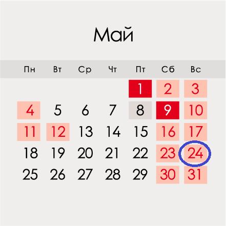 Дата празднования Дня славянской письменности и культуры в 2020 году