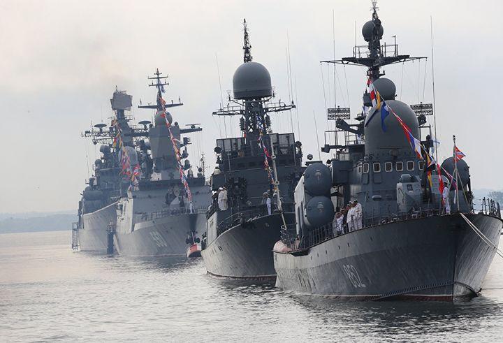 Парад ВМФ