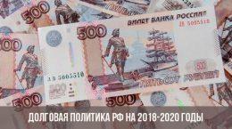 Долговая политика РФ
