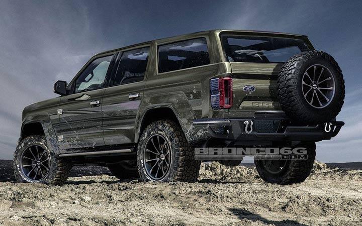 Новый Ford Bronco 2020 года