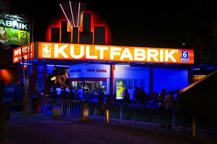 Ночной клуб в Мюнхене