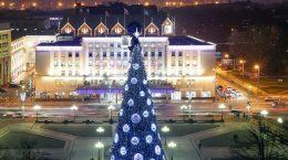 елка на площади калининграда