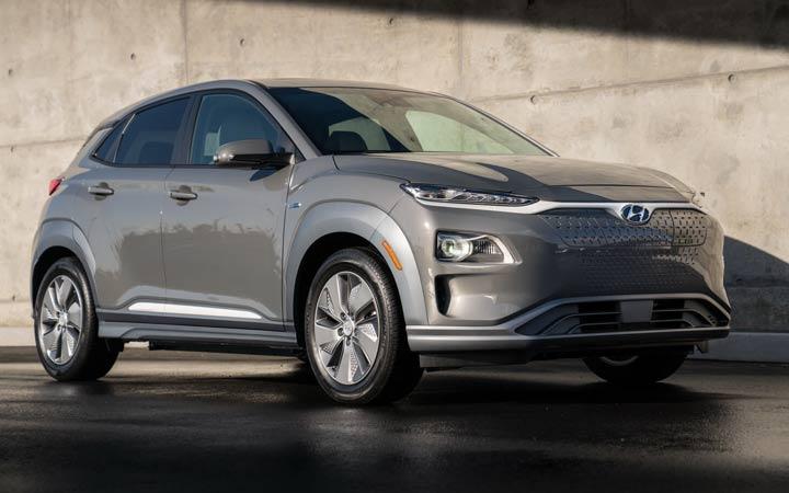 Кроссовер Hyundai Kona Electric 2020