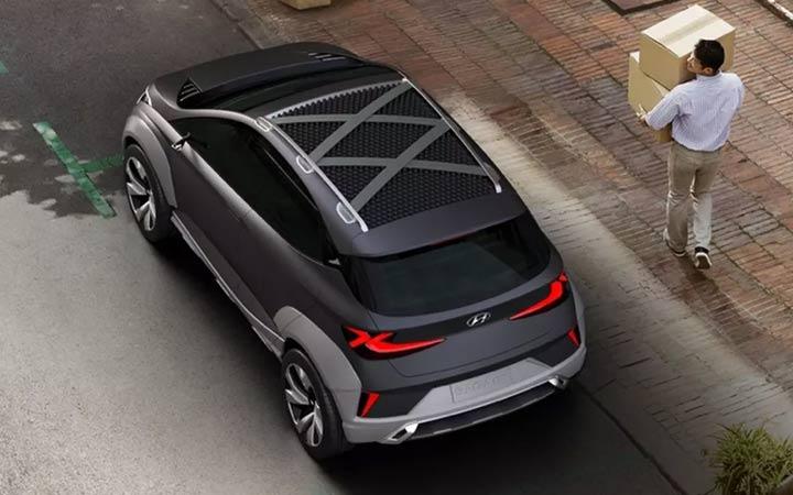 Экстерьер Hyundai Saga EV 2020