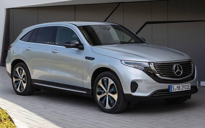 Электрокроссовер Mercedes-Benz EQC 2020