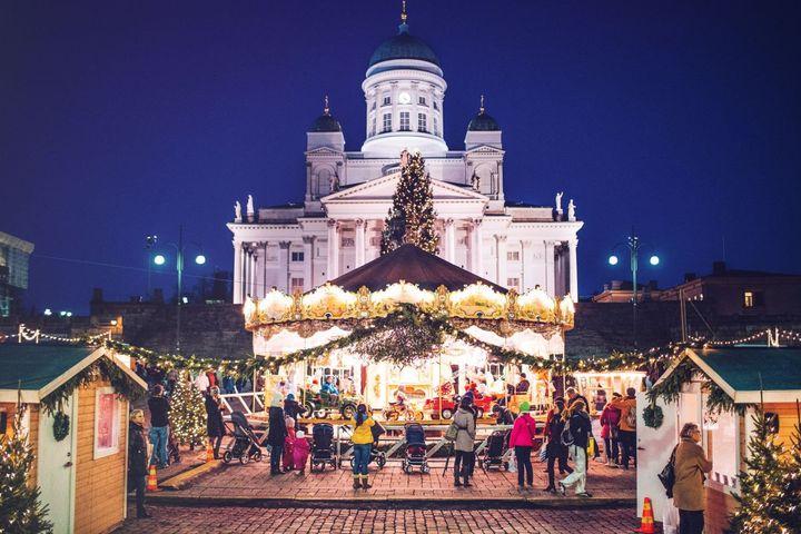 Новый год 2020 в Финляндии