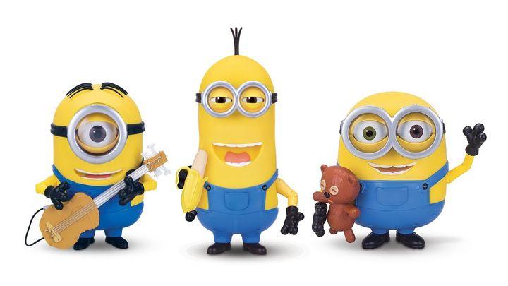 Стюарт, Кевин и Боб