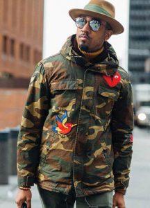 Куртка в стиле милитари мода 2019 года