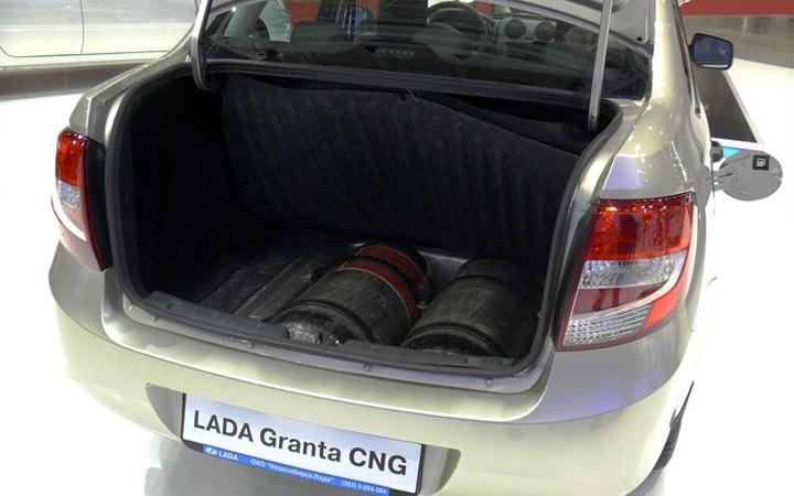 ГБО новой Granta CNG 2019-2020 года