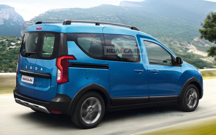 Как будет выглядеть Lada Van 2019-2020 года
