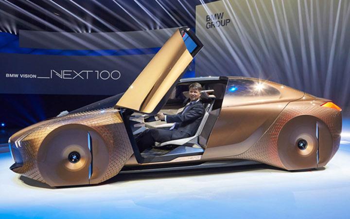 Новый BMW iNex 2020 года
