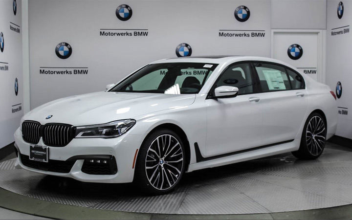 Экстерьер BMW 7-Series 2019-2020 года