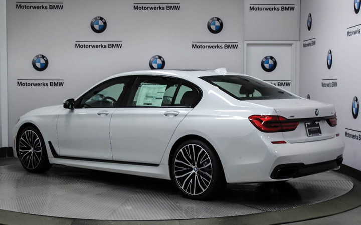 Новый BMW 7-Series 2019-2020 года
