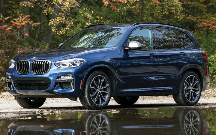 Новый BMW X3 2019-2020 года
