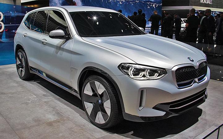 Новый BMW iX3 2019-2020 года