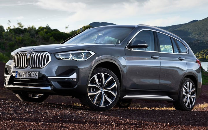 Экстерьер BMW X1 2020