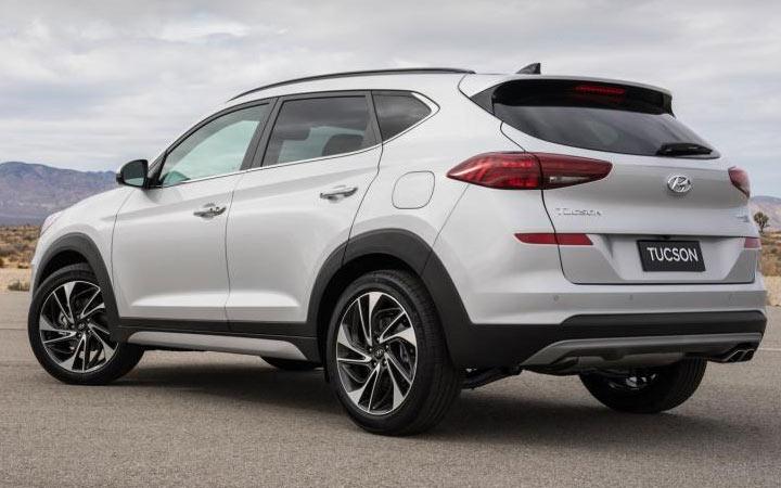 Экстерьер Hyundai Tucson 2019-2020