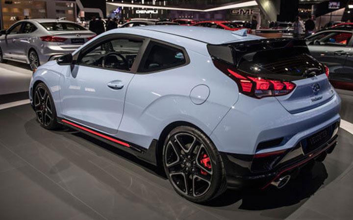 Экстерьер Hyundai Veloster 2019-2020